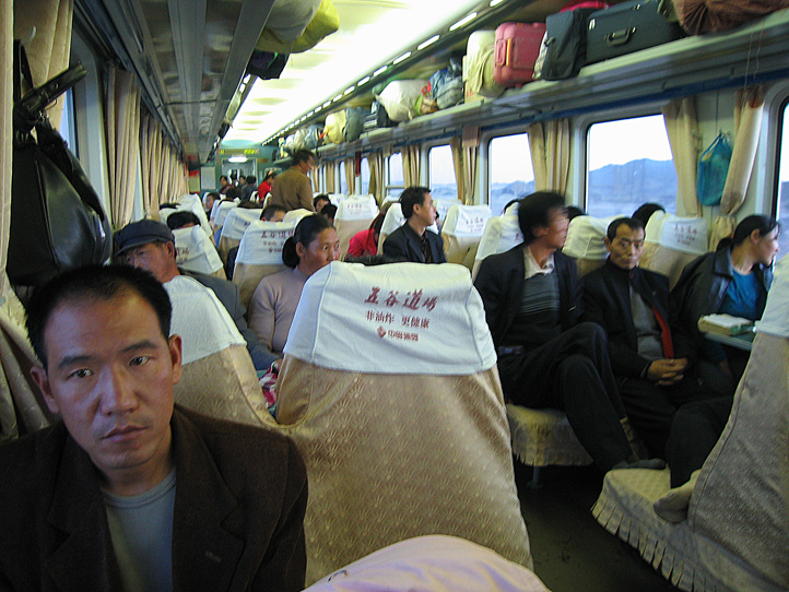 Train out of Urumqi