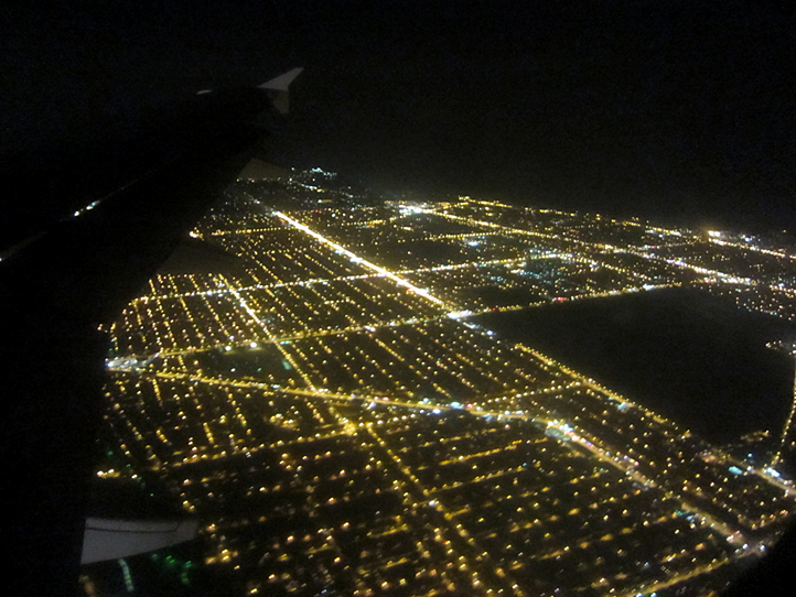 Approaching Chicago