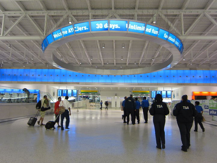 The jetBlue terminal at JFK
