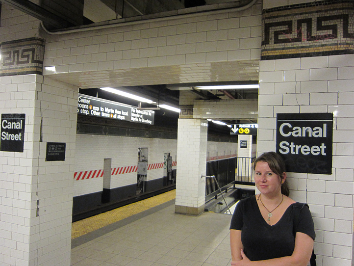 Megan in the NYC metro