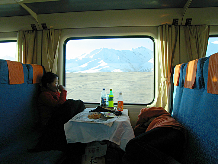 Train to Lhasa Tibet