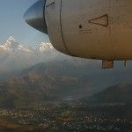 Flying to Jomsom