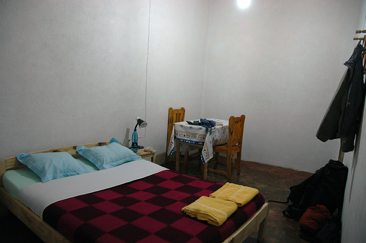 Hotel room in Ansirabe, Madagascar