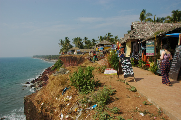Varkala India  city pictures gallery : Me go: Around the World » Where I Slept: Varkala Beach, India