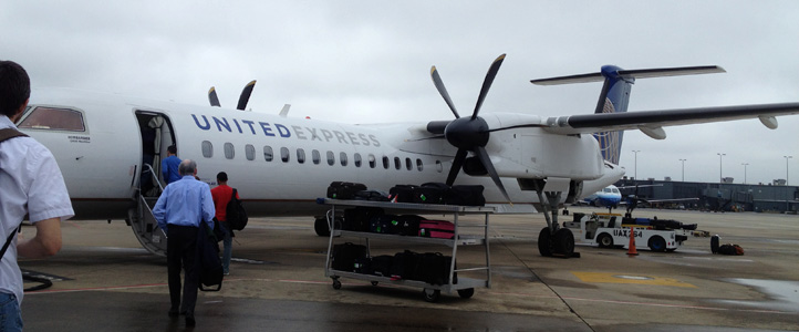 Small plane from D.C. to Syracuse