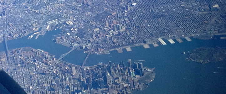 Manhattan by air