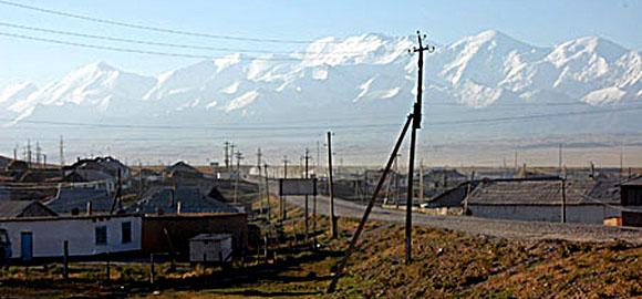 Crashing Into Central Asia