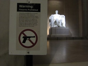 Lincoln gun policy