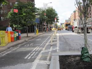NYC bike lanes