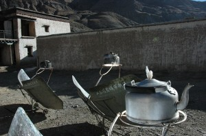 Solar power tea
