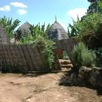 Dorze beehive houses