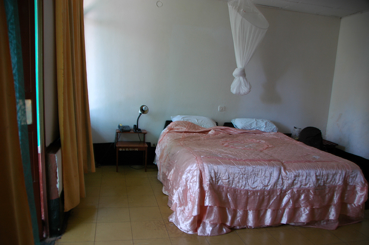 First hotel room in Bahir Dar