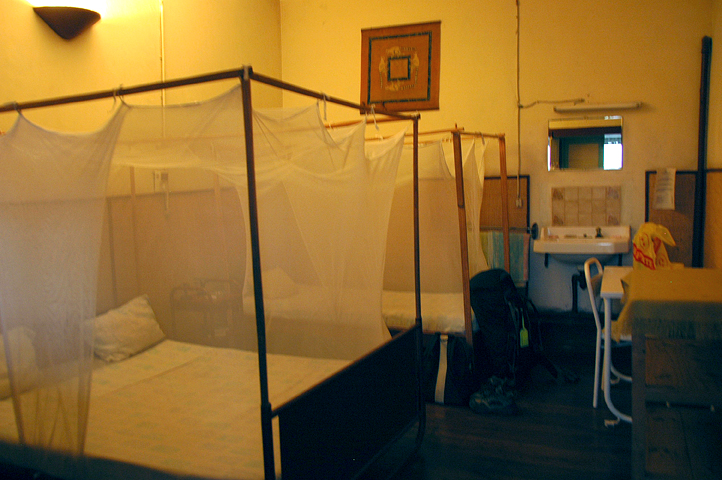 Hotel room in Miandrivazo, Madagascar