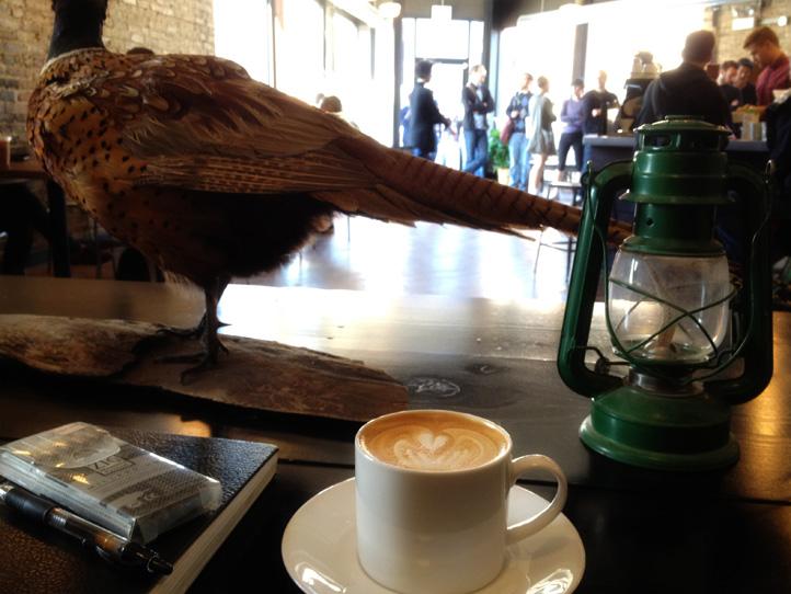 Latte at Gaslight Coffee Roasters